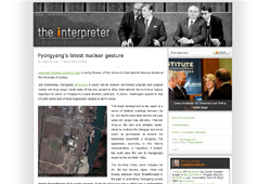 The Interpreter - Blog of the Lowy institute